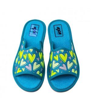 Домашняя женская обувь AXA Molti Cuori Avion