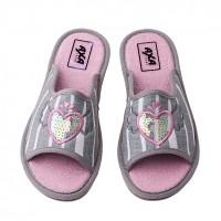Домашняя женская обувь AXA Piedi Rromantici Grigio