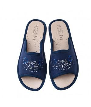Домашняя женская обувь AXA Tre Cuori Blue