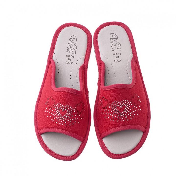 Домашняя женская обувь AXA Tre Cuori Rosso