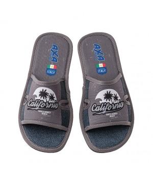 Мужская домашняя обувь AXA California Grigio