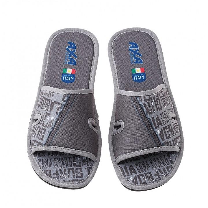 Мужская домашняя обувь AXA Surf Grigio